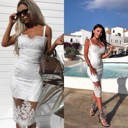 Fashione Shanone - Lace white dress