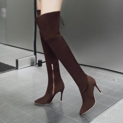 Fashione Shanone - Over the knee boots with pointed toe