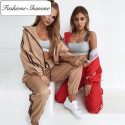Fashione Shanone - Ensemble de jogging veste et pantalon