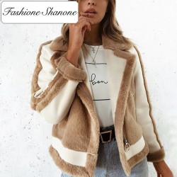 Fashione Shanone - Manteau perfecto en fourrure