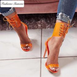 Fashione Shanone - Sandales à talons avec lacet