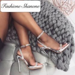 Sandales cristal