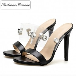 Fashione Shanone - Studded heeled sandals