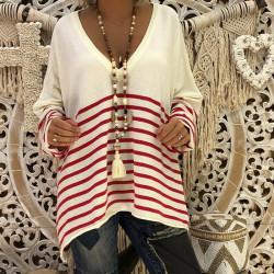 Fashione Shanone - T-shirt marin
