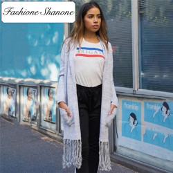 Fashione Shanone - Tassel cardigan