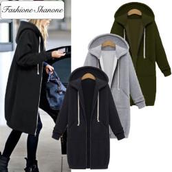 Fashione Shanone - Longue veste sweatshirt