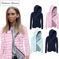 Fashione Shanone - Thin down coat with hood