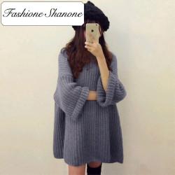 Fashione Shanone - Flared sweater dress