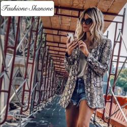 Fashione Shanone - Snake blazer jacket