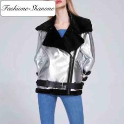 Fashione Shanone - Perfecto aviator coat
