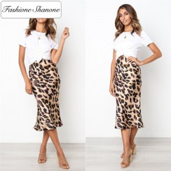Fashione Shanone - Jupe longue léopard