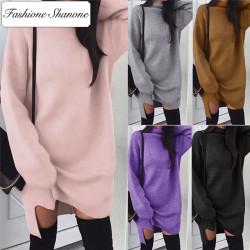 Fashione Shanone - High neck sweater dress