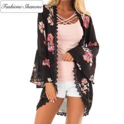 Fashione Shanone - Kimono fleurie