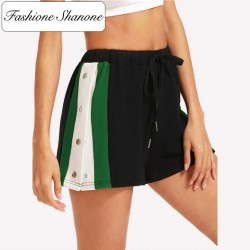 Fashione Shanone - Short sportswear avec boutons