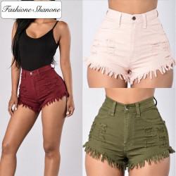 Fashione Shanone - Short en jean destroy