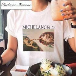 Fashione Shanone - Limited stock - Michelangelo art T-shirt