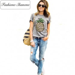 Fashione Shanone - Limited stock - Pineapple T-shirt