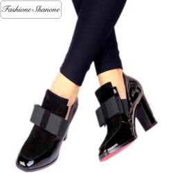 Fashione Shanone - Stock limité - Derbies à talon semelle rouge