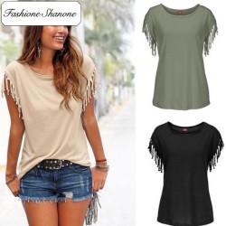 Fashione Shanone - Limited stock - Tassel T-shirt