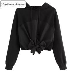 Fashione Shanone - Stock limité - Sweat à capuche avec noeud