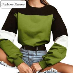 Fashione Shanone - Stock limité - Sweat tricolore
