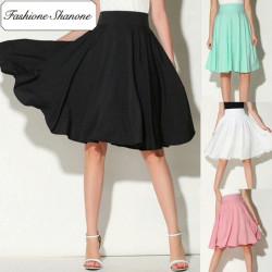 Fashione Shanone - Stock limité - Jupe mi-longue évasée