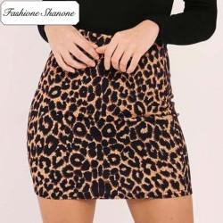 Fashione Shanone - Stock limité - Mini jupe léopard