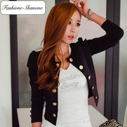 Fashione Shanone - Limited stock - Buttoned jacket
