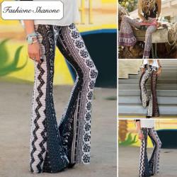 Fashione Shanone - Stock limité - Pantalon hippie patte d'éléphant