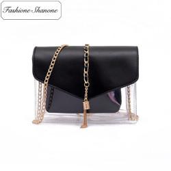 Fashione Shanone - Stock limité - Petit sac transparent à chaînette