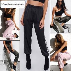 Stock limité - Pantalon de jogging en satin