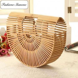 Fashione Shanone - Stock limité - Sac à main bambou