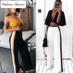Fashione Shanone - Stock limité - Pantalon large à rayures