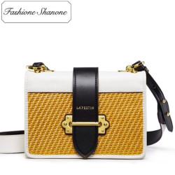 Fashione Shanone - Stock limité - Petit sac bandoulière tricolore