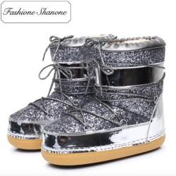 Stock limité - Boots de neige à paillette