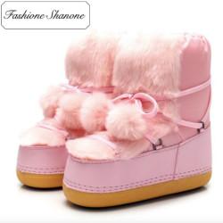 Fashione Shanone - Stock limité -Boots de neige avec fourrure