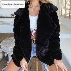 Fashione Shanone - Limited stock - Faux fur coat