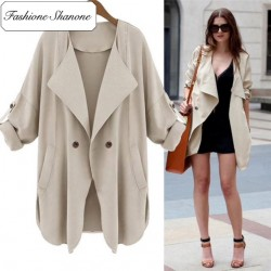 Fashione Shanone - Stock limité - Trench loose
