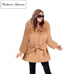 Fashione Shanone - Stock limité - Manteau avec col en fourrure