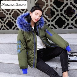 Fashione Shanone - Limited stock - Down coat with fur hood