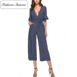 Fashione Shanone - Limited stock - Polka dot jumpsuit