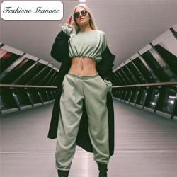 Fashione Shanone - Stock limité - Ensemble jogging avec sweat court