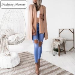 Fashione Shanone - Stock limité - Cape beige