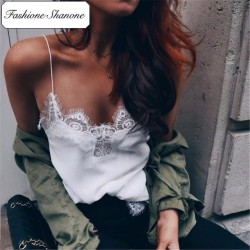 Fashione Shanone - Limited stock - Lace and satin top