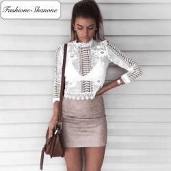 Fashione Shanone - Stock limité - Blouse en dentelle