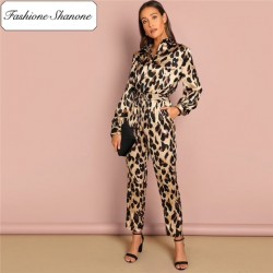 Fashione Shanone - Limited sotck - Leopard jumpsuit