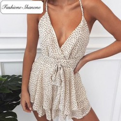 Fashione Shanone - Limited stock - Ruffle playsuit