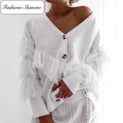 Fashione Shanone - Stock limité - Gilet à franges