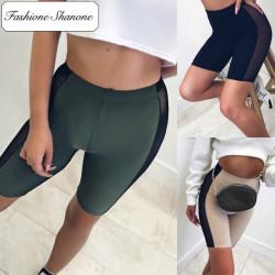 Fashione Shanone - Stock limité - Short cycliste avec bandes transparentes