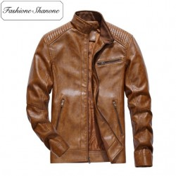 Limited stock - Zipper leather jacket